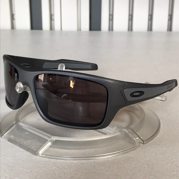 60b058c8ac NEW Custom Oakley Turbine OO9263 Steel Grey   Grey.  M 5b859ea41070ee09c1838f83